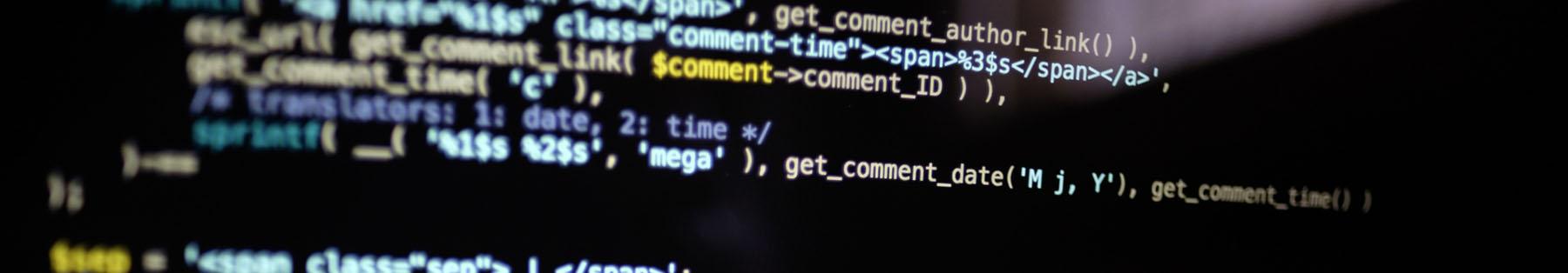 ウェブプログラマー